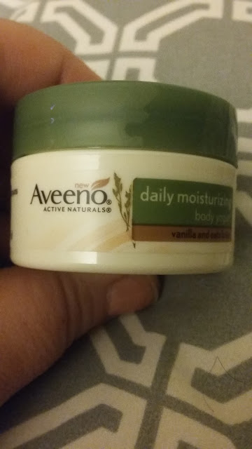 aveeno vanilla and oats lotion