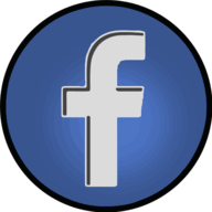 facebook glowing icon