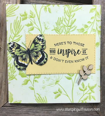 Stampin Up!, Botanical Butterfly, www.stampingwithsusan.com, Butterfly Elements, 2019 Sale-A-Bration