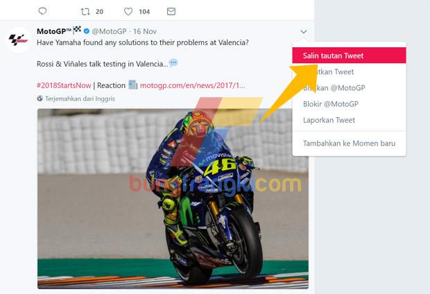 Cara Memasukkan Post gambar dan video Twitter di Postingan Blog AMP