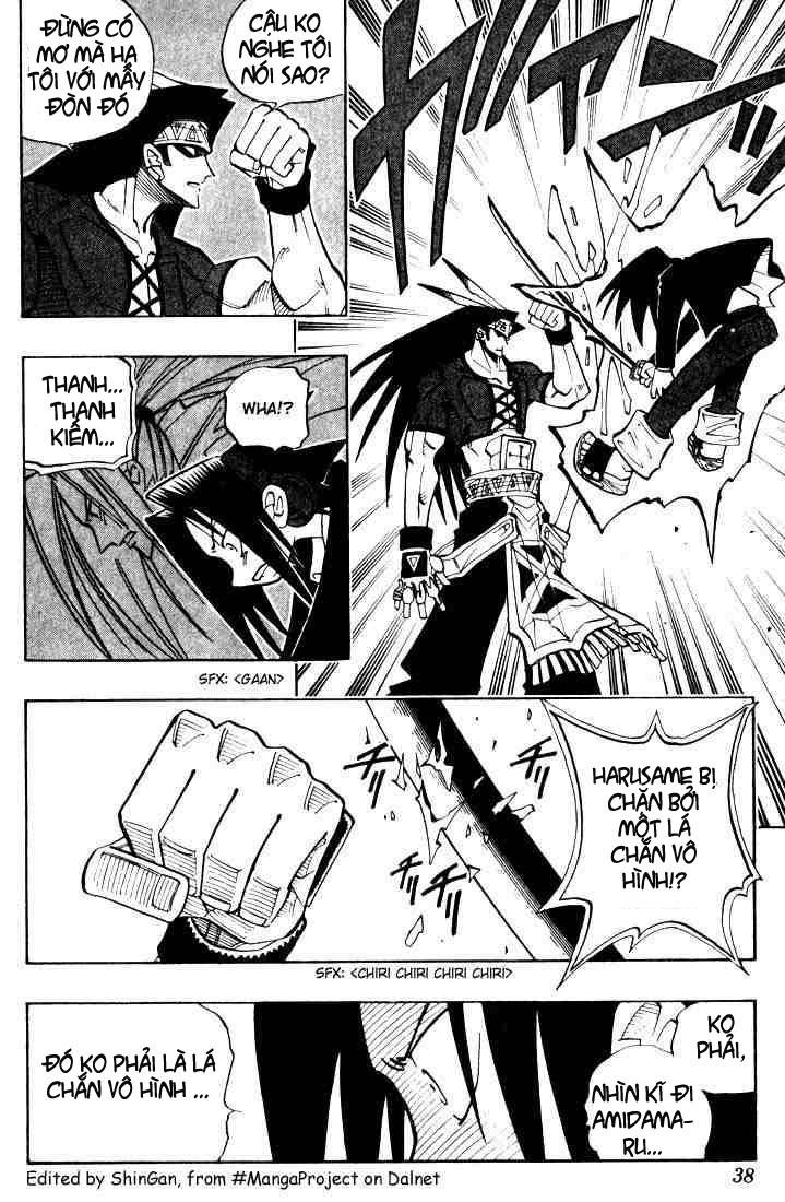 Shaman King [Vua pháp thuật] chap 28 trang 10