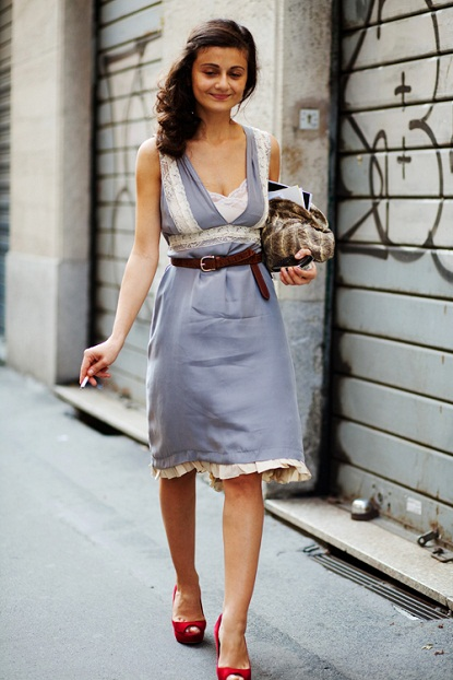 Express O Dresses Belts Long Legs
