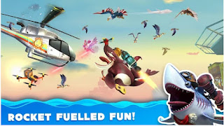 Hungry Shark World v3.1.0 Mod Apk Offline Unlimited Gems