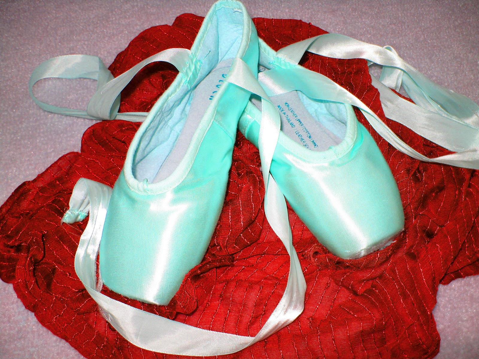 """Dear Ones Healing Ministry: """"Turquoise & Red Pointe Shoes ..."""