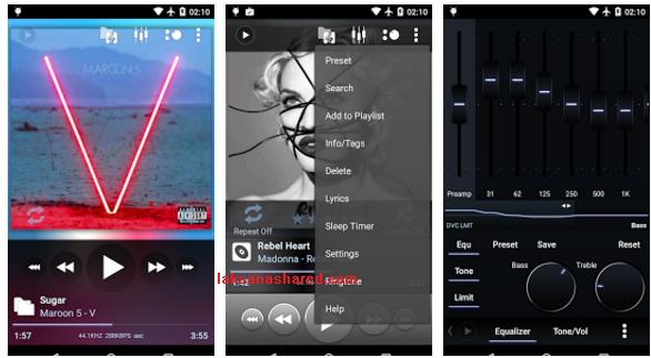 Poweramp Music Player 3 Alpha Build 703 All Edition Apk