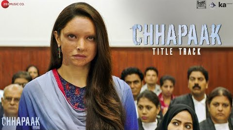 Chhapaak Lyrics - Chhapaak | Arijit Singh