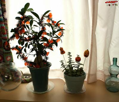 観葉植物ハロウィン