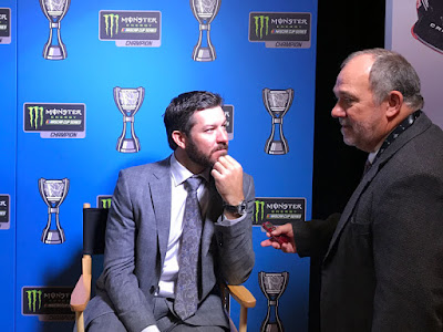 2017 Monster Energy NASCAR Cup Series Champion - Martin Truex Jr.