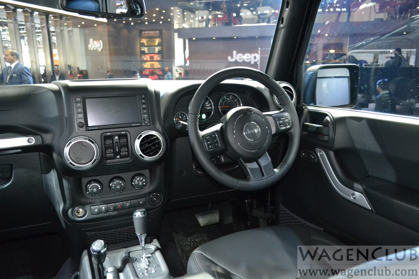 2016 Jeep Wrangler Unlimited Auto Expo Live Wagenclub Indian Spec