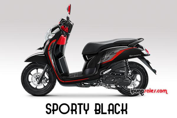 Honda-Scoopy-2019-sporty-black