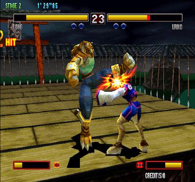Bloody Roar 2 arcade videojuego descargar gratis