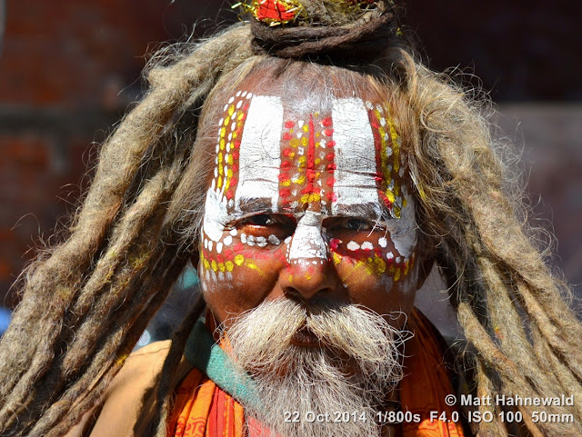 people, closeup, street portrait, headshot, Nepal, Kathmandu, sadhu, Hinduism, holy man, religious ascetic, yogī, mokṣa