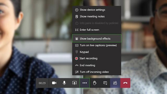 تتيح لك Microsoft Teams الآن تحميل صورك الخاصة كصور خلفية على مكالمات الفيديو