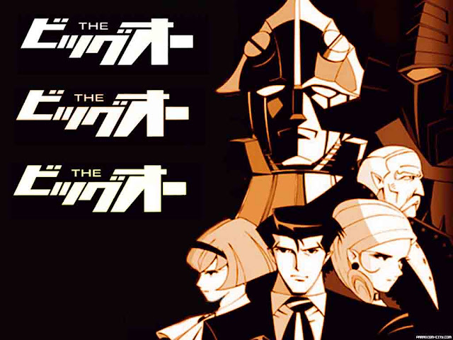 [Reseña Anime] The Big O; Batman y mechas juntos