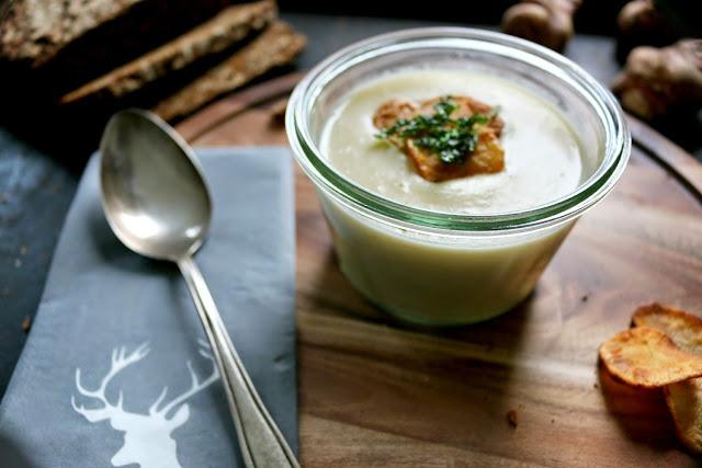 Topinambur, Suppe, keine Kartoffel, Herbst