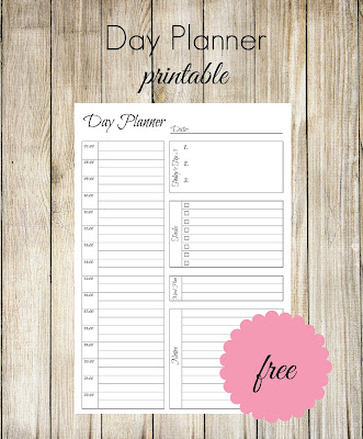 Ioanna's Notebook - Free printable Day Planner