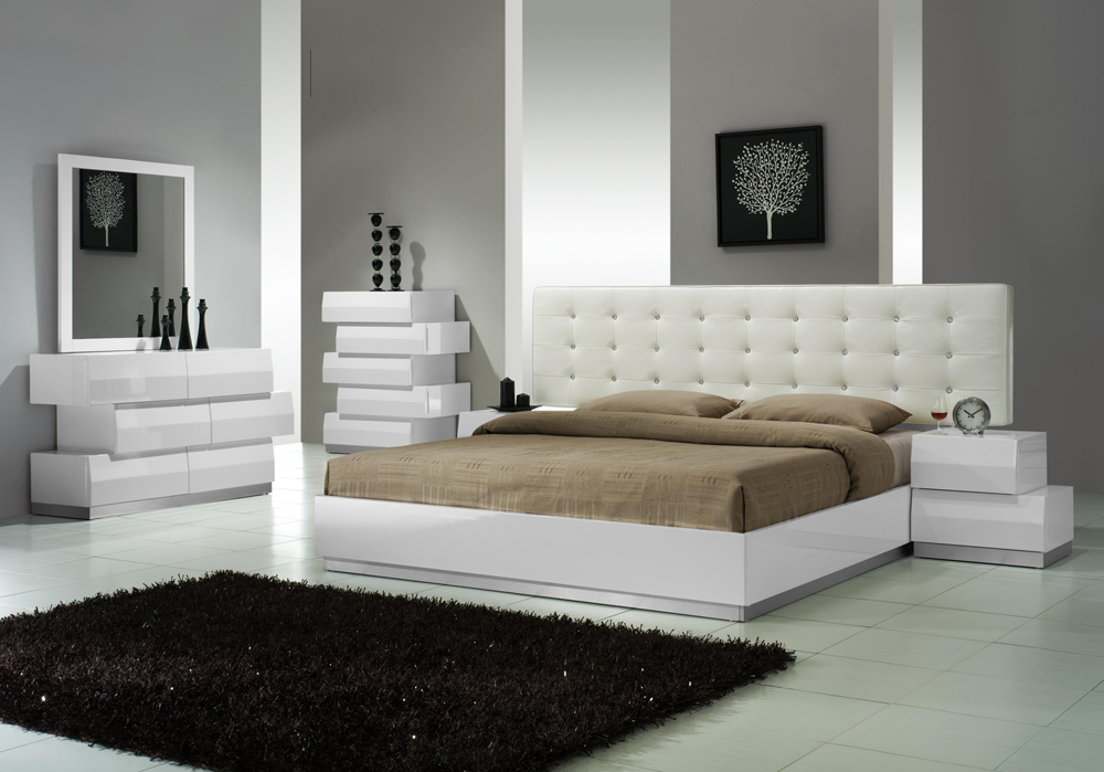 Attractive Modern Bedroom Furniture Nice Ideas