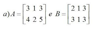 matriz a e b exemplo a2