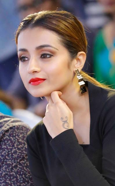 Trisha Krishnan Beautiful Pic In Black Dress