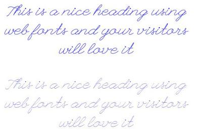 script-number-one web font