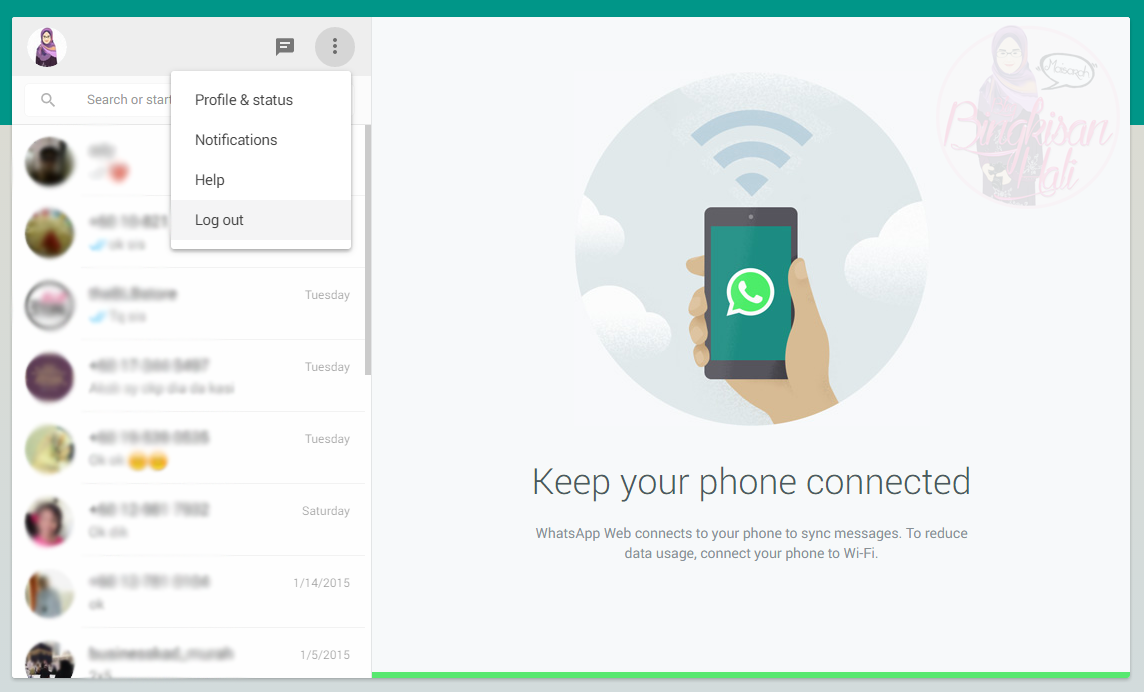 Cara Guna Whatsapp di dekstop, Whatsapp, BlueStacks, Blog Bingkisan Hati