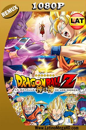 Dragon Ball Z: La Batalla de los Dioses (2013) Latino HD BDRemux 1080P ()