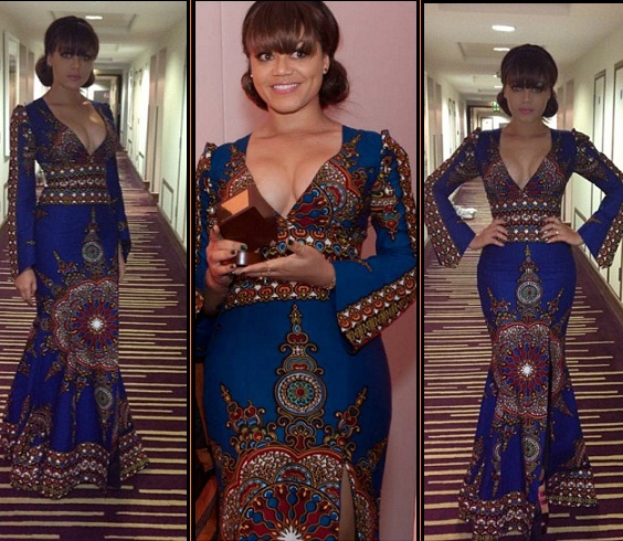 nadia buari in london ankara