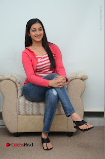 Telugu Actress Mouryani Latest Pos in Blue Denim Jeans  0091.JPG