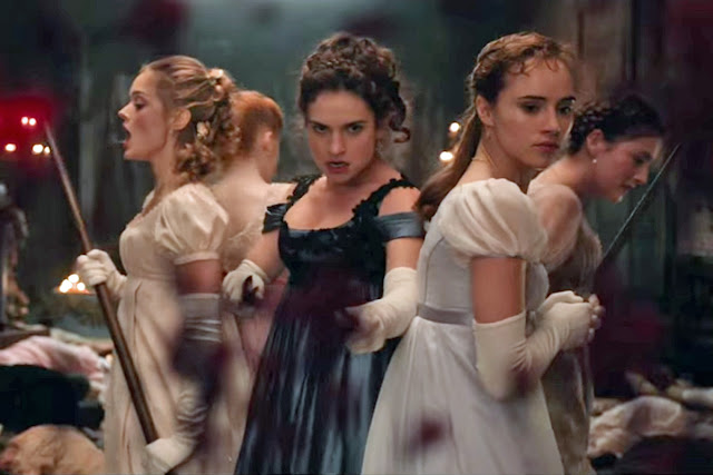 Pride and Prejudice and Zombies American Comedy Horror Film