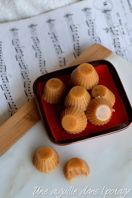 Les caramels mous