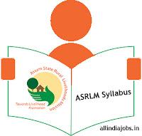 ASRLM Block Coordinator Syllabus