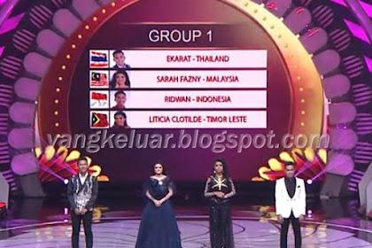 DA Asia 4 Top 24 Besar Grup 1 Tadi Malam 9 November 2018
