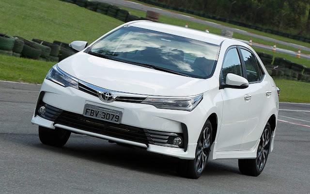 Toyota exporta Corolla brasileiro para Chile e Colômbia