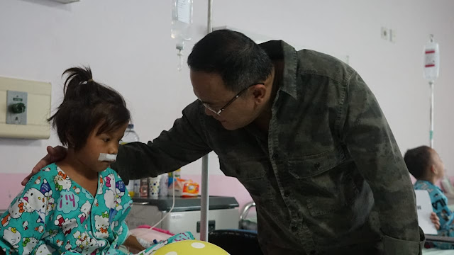 Bupati Muba Sambangi Operasi Bibir Sumbing Gratis