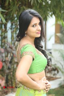 Actress Nikitha Bisht Stills in Lehenga Choli at Pochampally Ikat Art Mela Launch  0283.JPG