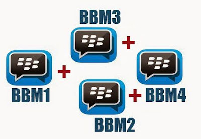 Download BBM Mod BBM2 + BBM3 + BBM4 Apk v3.3.3.39 Terbaru