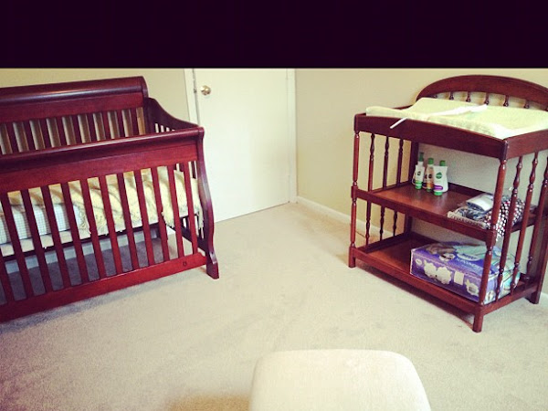 Baby on a Budget {The Nursery}