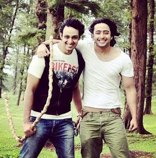 Foto Saurabh Raj Jain dengan Shaheer Sheikh