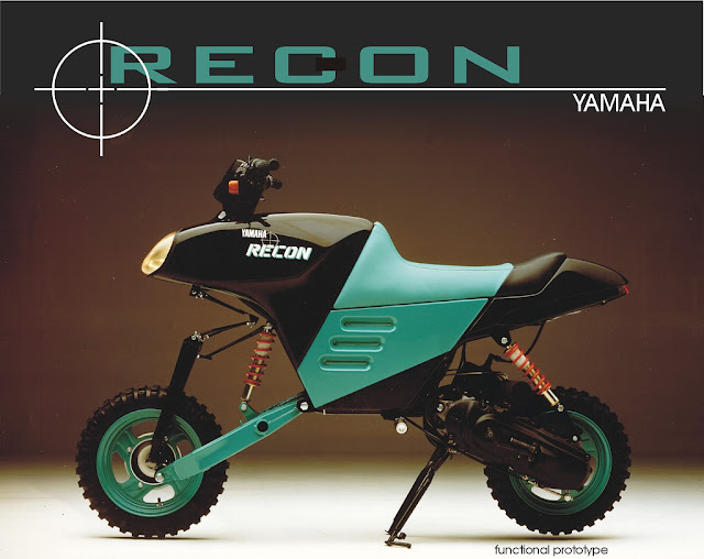 Yamaha Recon Forkless Scooter Prototype