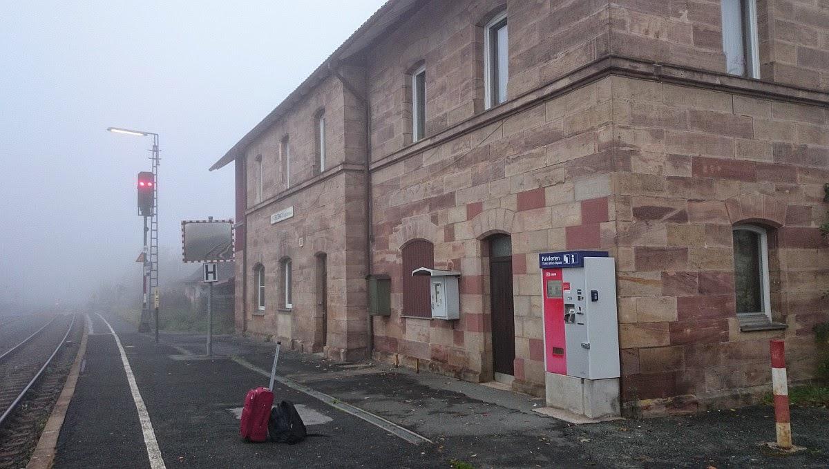 Bahnhof Untersteinach b. Stadtsteinach, Oberfranken