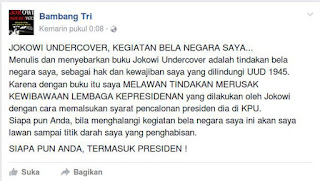 "Bambang Tri "" Jokowi Undercover """