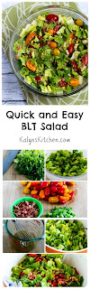 Quick and Easy BLT Salad [from KalynsKitchen.com]