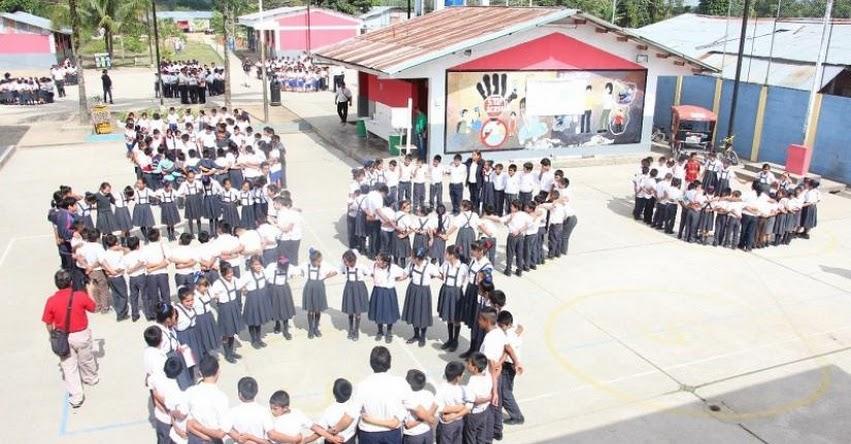 Más de tres mil instituciones educativas cumplieron con el simulacro de sismo en la región San Martín