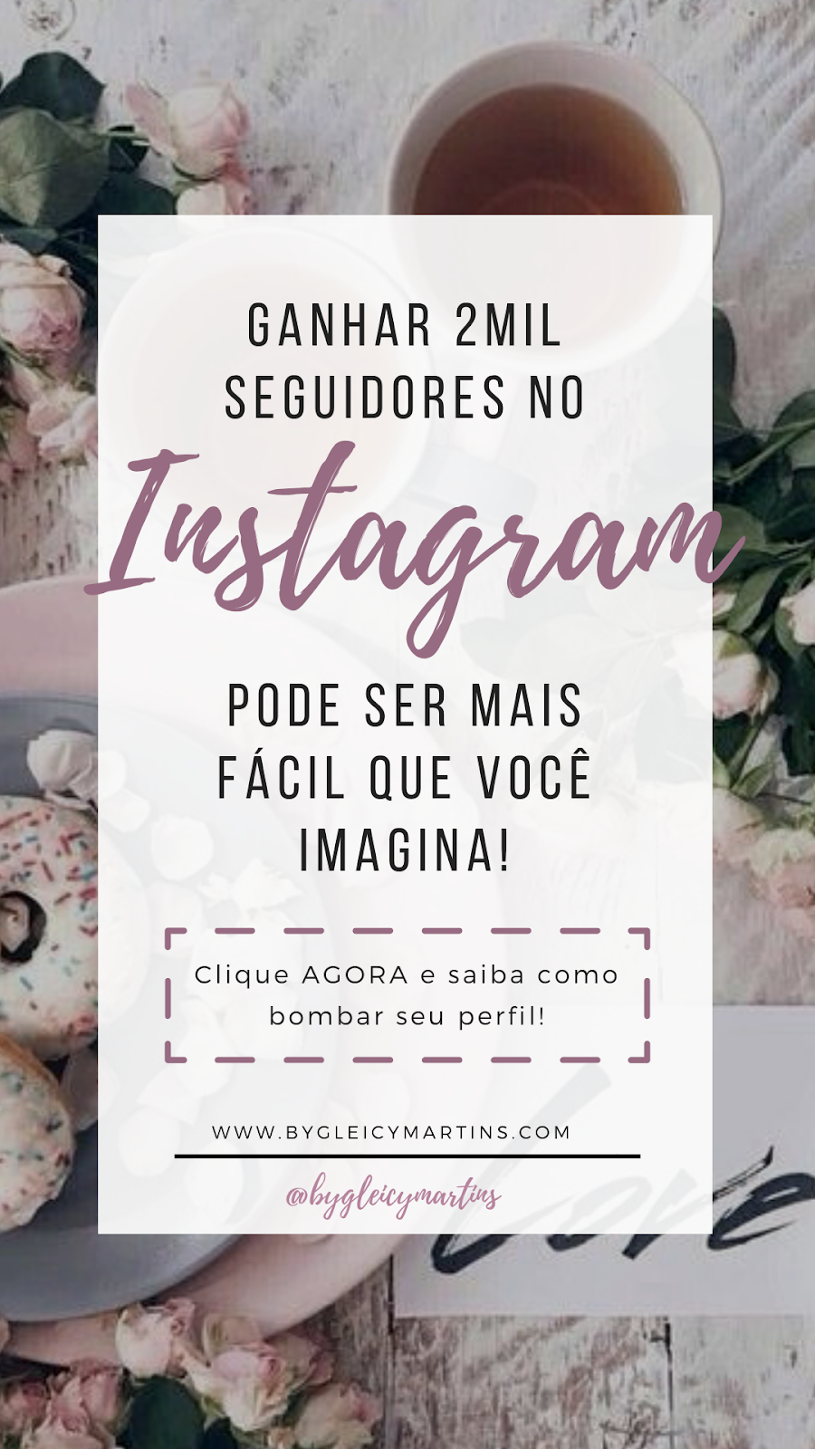ENGAJAMENTO no Instagram