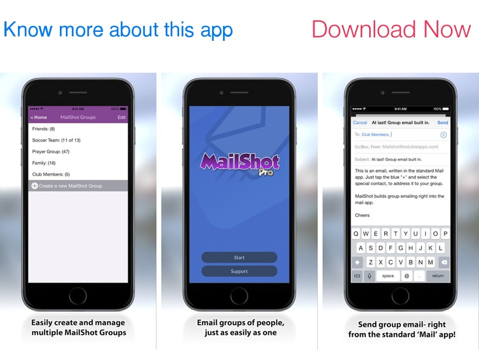 MailShot Pro- Group Email Done Right
