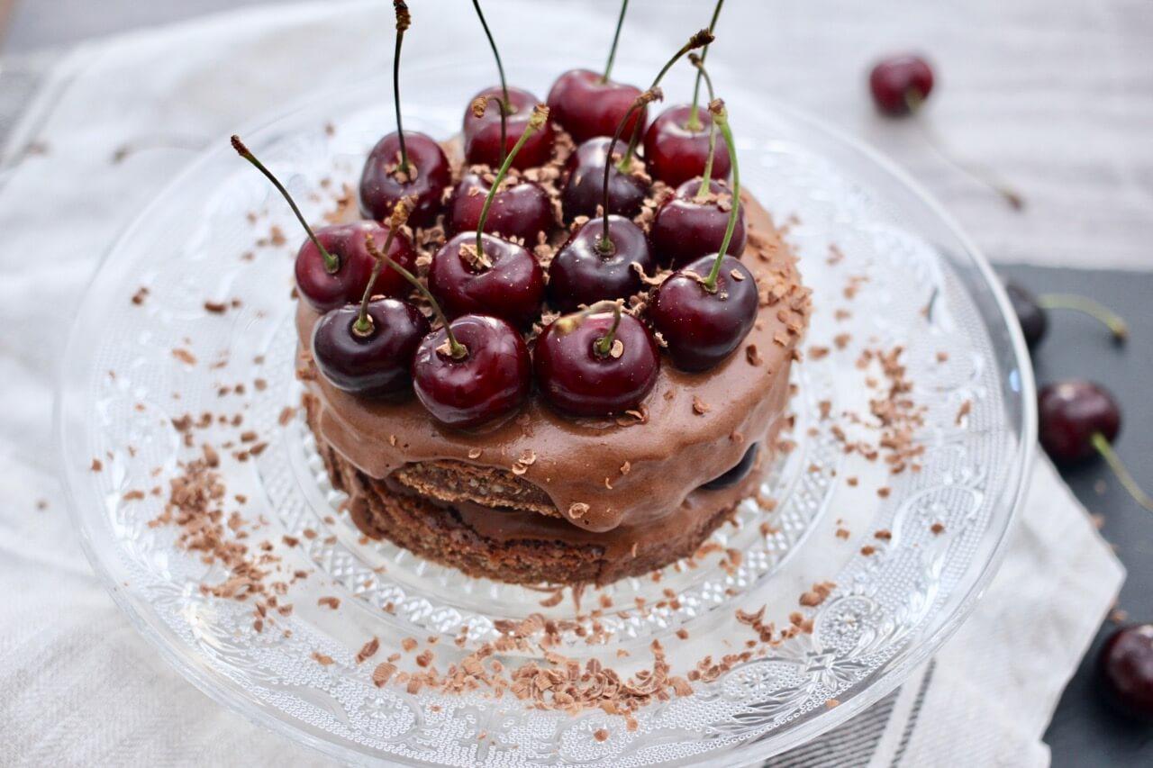 Schokoladen Kirsch Kuchen Rezept