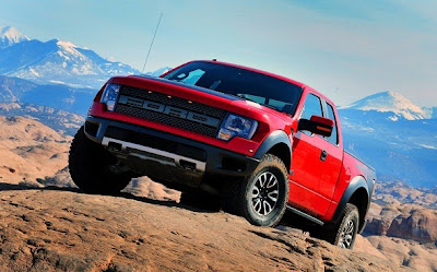 2015 Ford SVT Raptor Front View Model