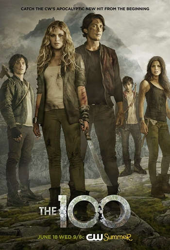 The 100 Temporada 1 Latino 720p Dual