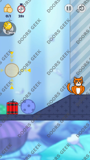 Hello Cats Level 26 Solution, Cheats, Walkthrough 3 Stars for Android and iOS