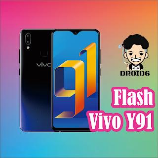 Cara Flash Vivo Y91 Tanpa PC
